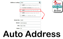 Auto Address