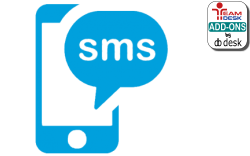 Email-to-sms add-on